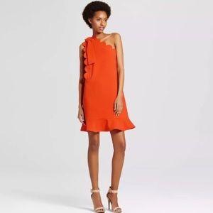 NWT Victoria Beckham for Target XS Orange Clemson